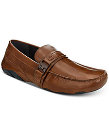 Kenneth Cole Reaction Men's Leather Toast 2 Me Drivers