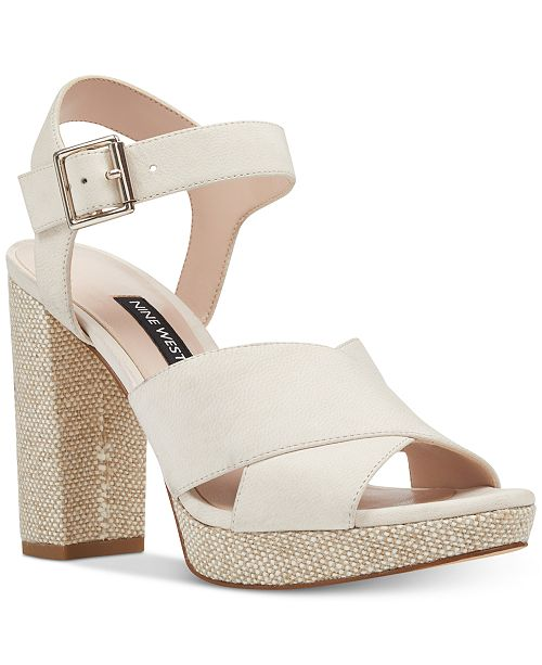 73e42693c0a0 Nine West Jimar Platform Sandals   Reviews - Sandals   Flip Flops ...