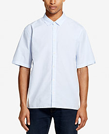 DKNY Men's Fine Striped Woven Shirt, Created for Macy's