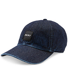DKNY Men's Denim Snapback Hat, Created for Macy's