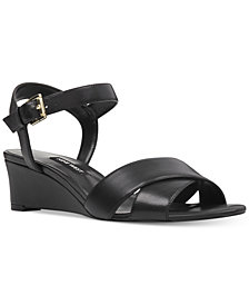 Nine West Laglade Wedge Sandals