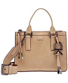 Calvin Klein Brynn Leather Crossbody