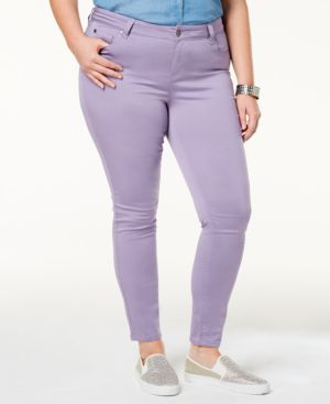 Celebrity Pink Trendy Plus Size Jayden Colored Skinny Jeans 6868048