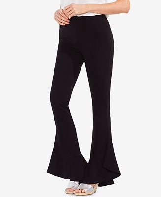 Vince Camuto Flared-Hem Pull-On Pants