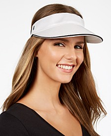 Textured Knit Visor