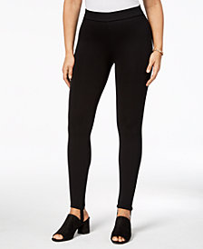 Style & Co Petite Stirrup Leggings, Created for Macy's