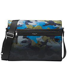 Michael Kors Men's Camo-Print Messenger Bag