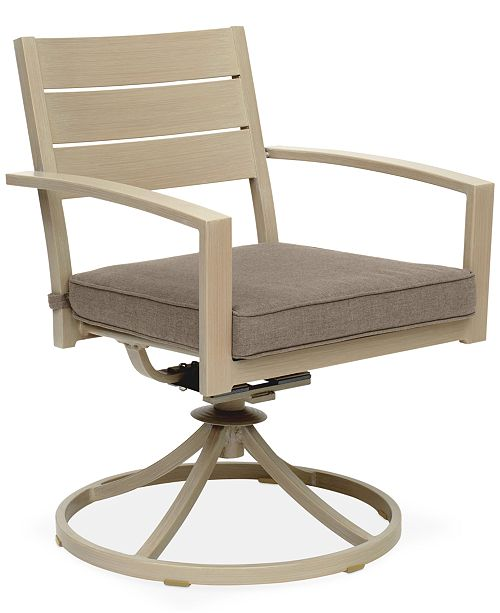 Furniture CLOSEOUT! Beach House Outdoor Swivel Rocker, with Sunbrella® Cushions, Created for Macy's