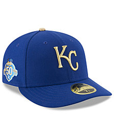 New Era Kansas City Royals Low Profile AC 50th Anniversary 59Fifty Fitted Cap