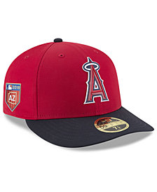 New Era Los Angeles Angels Spring Training Pro Light Low Profile 59Fifty Fitted Cap