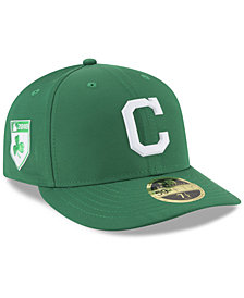 New Era Cleveland Indians St. Patty's Day Pro Light Low Crown 59Fifty Fitted Cap