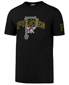 '47 Brand Men's Pittsburgh Pirates On-Deck Rival T-Shirt