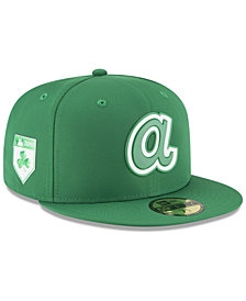New Era Atlanta Braves St. Patty's Day Pro Light 59Fifty Fitted Cap