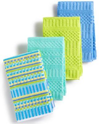 Kitchen Towels, Set of 4 Alexa Cool Bar Mops