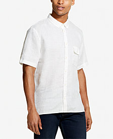 DKNY Men's Linen Woven Shirt, Created for Macy's
