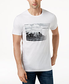 Kenneth Cole Men's Graphic-Print Faux-Pocket T-Shirt