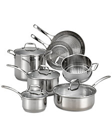 T-fal Performa-X 11-Pc. Stainless Steel Cookware Set