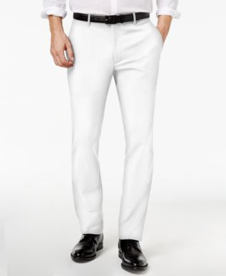 Men's Slim-Fit Stretch Pants, Created for Macy's