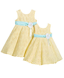 GET THE LOOK: Sister Eyelet & Ribbon Dresses, Baby, Toddler & Little Girls