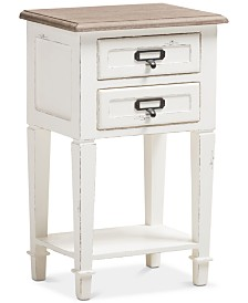 Dauphine 2-Drawer Nightstand, Quick Ship