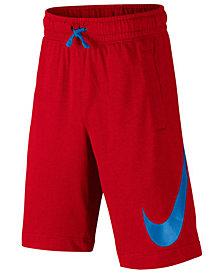 Nike Cotton Sportswear Shorts, Big Boys