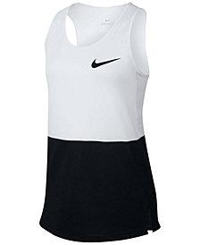 Nike Dry Colorblocked Training Tank, Big Girls