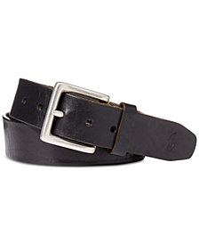 Polo Ralph Lauren Men's Belt, Distressed Westend Buckle