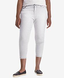 Lauren Ralph Lauren Plus Size Premier Skinny Crop Jeans