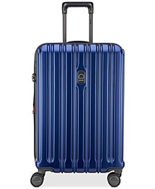 "Delsey ConnecTech 25"" Expandable Spinner Suitcase"