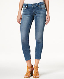 Lucky Brand Lolita Curvy-Fit Cutoff Skinny Jeans