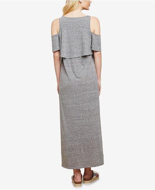 bd776c9ec8 Jessica Simpson Maternity Cold-Shoulder Nursing Dress   Reviews ...