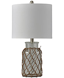 Stylecraft Clear Seed Table Lamp