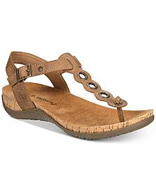 BEARPAW Women's Jean T-Strap Sandals