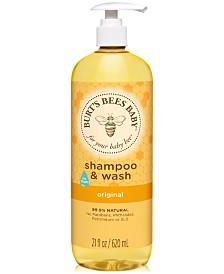 Burt's Bees Baby Original Shampoo & Wash, 21 fl. oz.