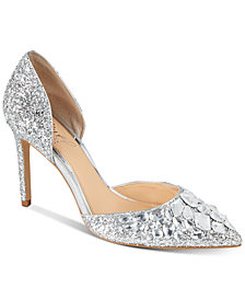Jewel Badgley Mischka Upton Evening Pumps