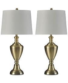 Stylecraft Set of 2 Madison Table Lamp