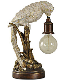 Stylecraft Poly Parrot Table Lamp