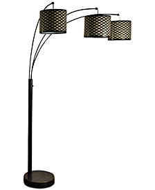 Stylecraft Madison 3 Arm Floor Lamp