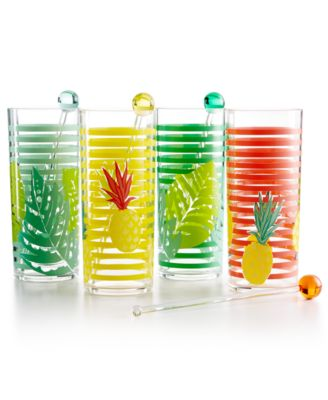 4-Pc. Tom Collins Glass Set, Created for Macy's