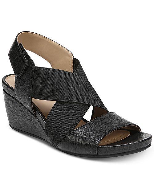 e76653df0275 Naturalizer Cleo Wedge Sandals   Reviews - Sandals   Flip Flops ...