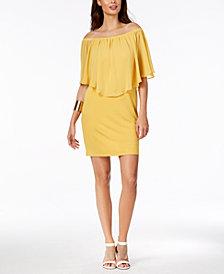 Thalia Sodi Chiffon Popover Dress, Created for Macy's