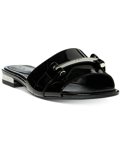 Lauren Ralph Lauren Davan Slip On Flat Sandals