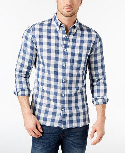 Brooks Brothers Red Fleece Men's Gingham Slim-Fit Shirt