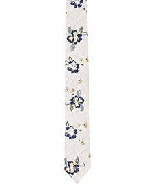 Original Penguin Men's Dent Floral Skinny Tie