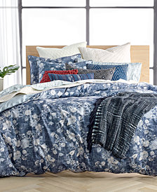 Lucky Brand Sakura Reversible Duvet Cover Sets, Created for Macy's
