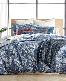 CLOSEOUT! Lucky Brand Sakura Reversible Bedding Collection, Created for Macy's
