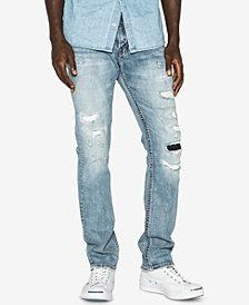 Silver Jeans Men's Konrad Slim Fit Ripped Jeans