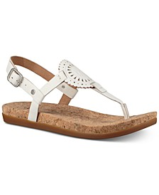 Women's Ayden Footbed Flat Sandals