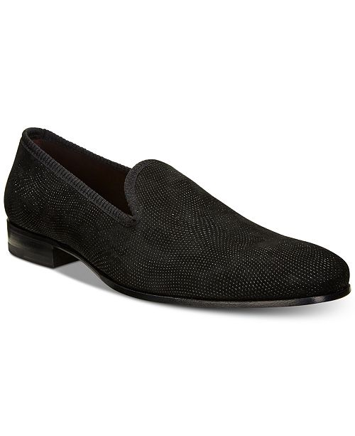 Mezlan Men's Slip-On Suede Loafers, Created for Macy's Men's Shoes
