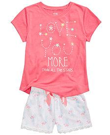 Max & Olivia Pajama Tops, Shorts & Pants, Little & Big Girls, Created for Macy's